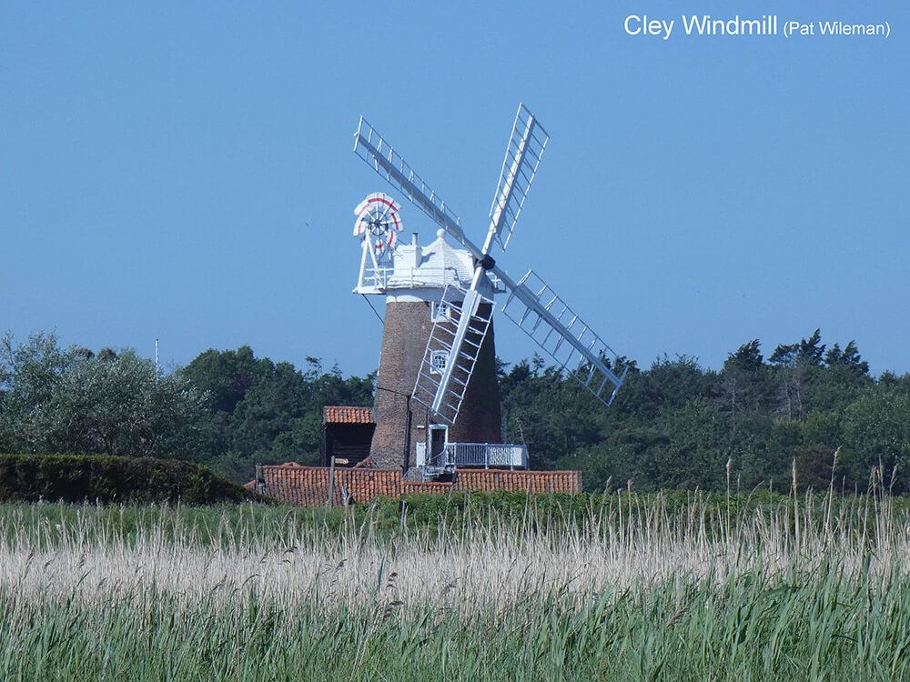 Cley-Village-Windmill-P1000550