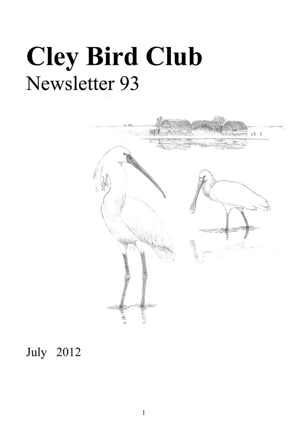 cbc newsletter 93 front cover